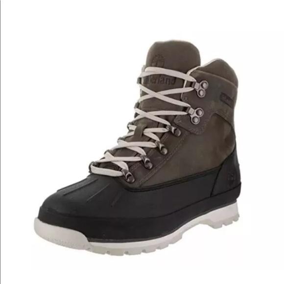 54b84e6a4f7 Timberland Men's Shell Toe Euro Hiker A1AUJ Boot NWT